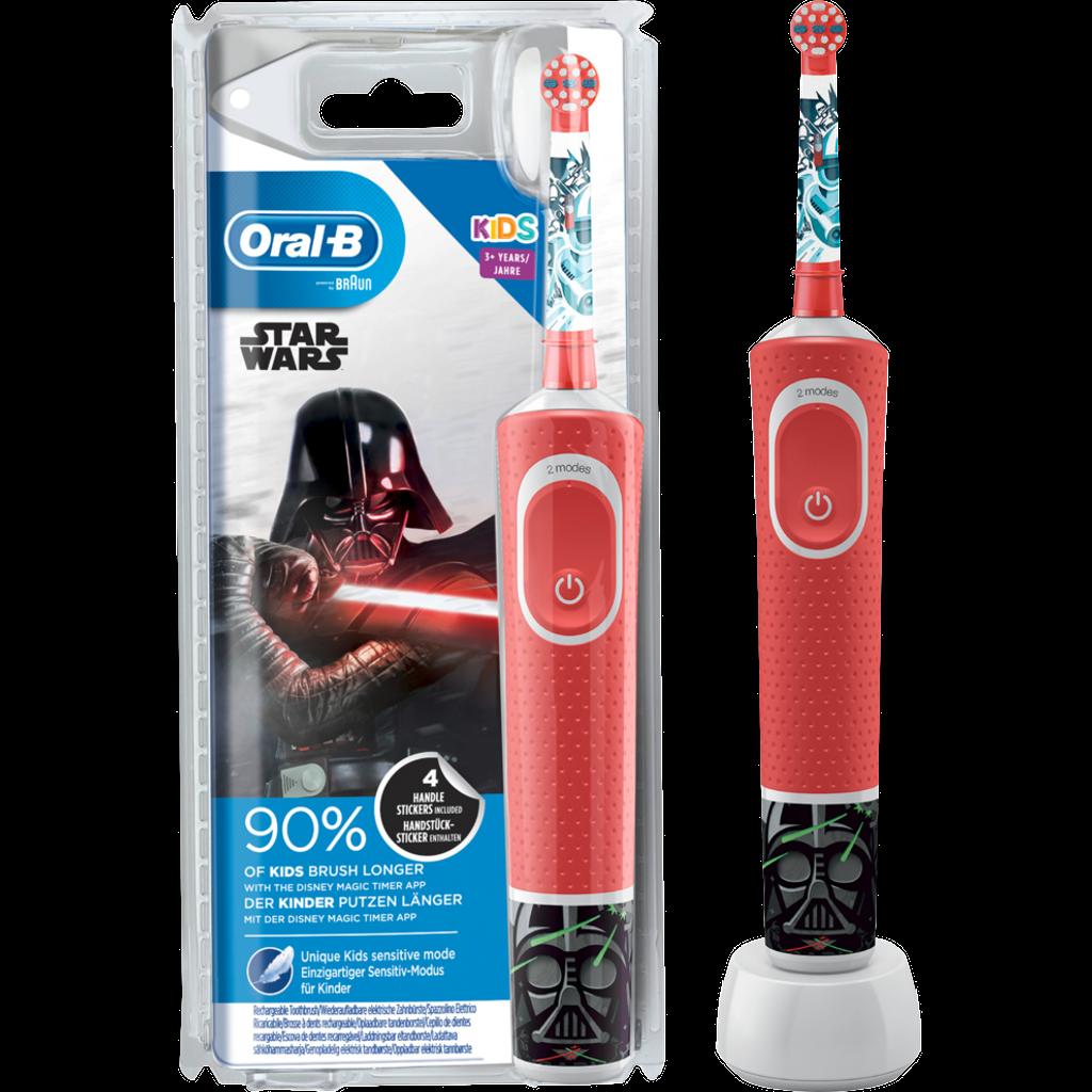 ORAL B Elektrische Zahnbürste, Vitality 100 Kids Star Wars